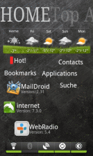 Android ssLauncher Screenshot 1