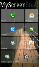 Android ssLauncher Screenshot 2