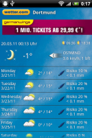 Wetter.com Screenshot 1